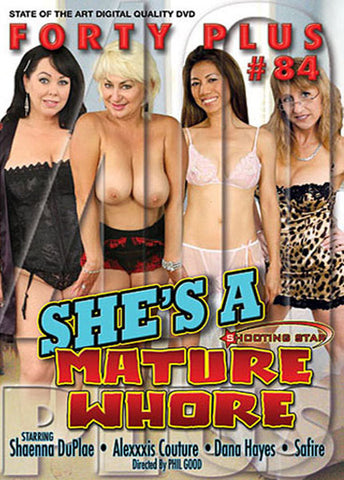 Cheap Forty Plus 84 porn DVD