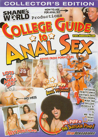 Cheap College Guide To Anal Sex porn DVD