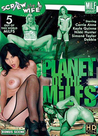 Cheap Planet Of The MILFs 1 porn DVD