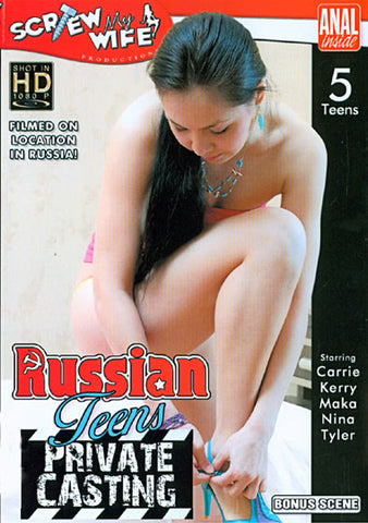 Cheap Russian Teens Private Casting porn DVD