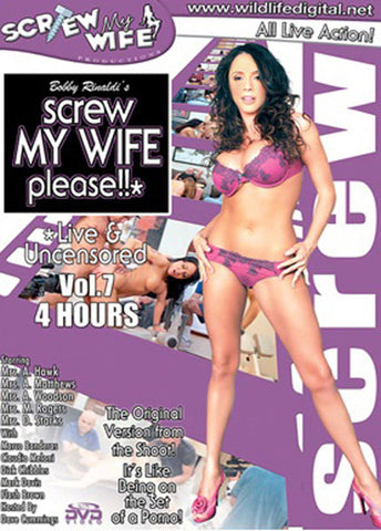 Cheap Screw My Wife Please Live & Uncensored 7 porn DVD