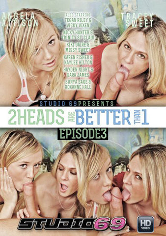 Cheap 2 Heads Are Better Than 1 3 porn DVD