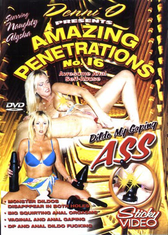 Cheap Amazing Penetrations 16 porn DVD