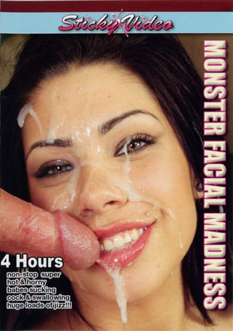 Cheap Monster Facial Madness porn DVD