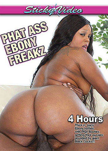 Phat Ass Ebony Freakz Adult Movies DVD