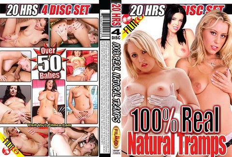 Cheap 100% Real Natural Tramps porn DVD