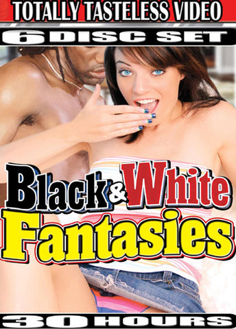 Black & White Fantasies (6 Disc Set) XXX Adult DVD