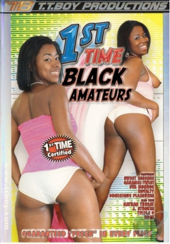 Cheap 1st Time Black Amateurs porn DVD