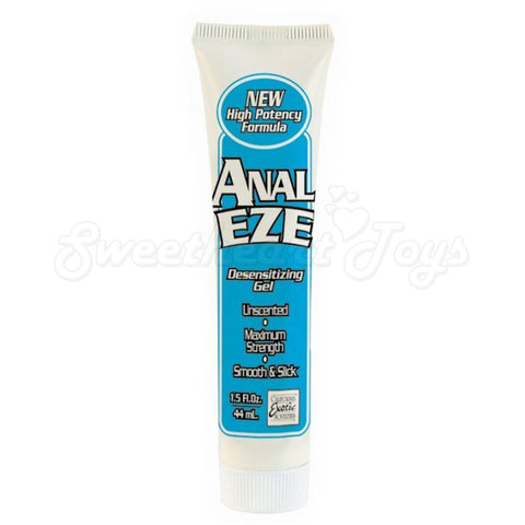 Anal-Eze Gel Cream White