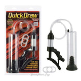 Quick Draw Vacuum Pump Clear