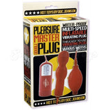 1181-02-BX Pleasure Master Double Plug Red