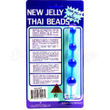 N3013BL/GT New Jelly Thai Beads Anal Beads Blue