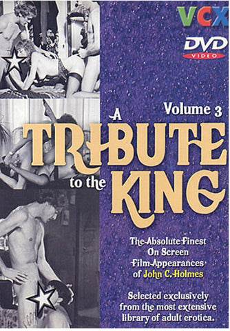 A Tribute To The King 3 XXX Adult DVD