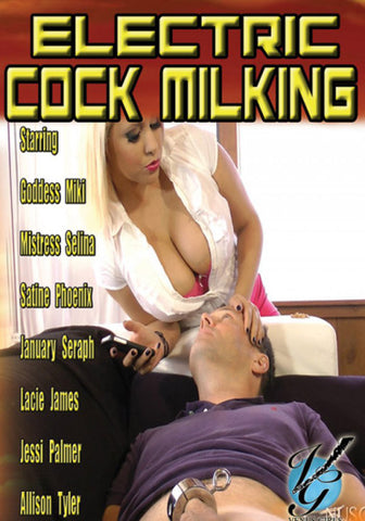 Electric Cock Milking Porn DVD