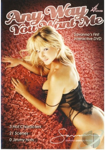 Cheap Any way you want me porn DVD