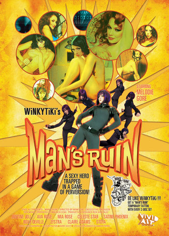 Cheap Man's Ruin (2 Disc Set) porn DVD