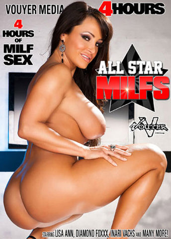 All Star MILFs Sex DVD
