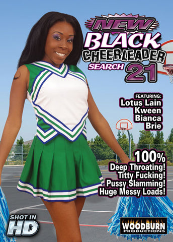 Black Cheerleader Search 21 Adult DVD