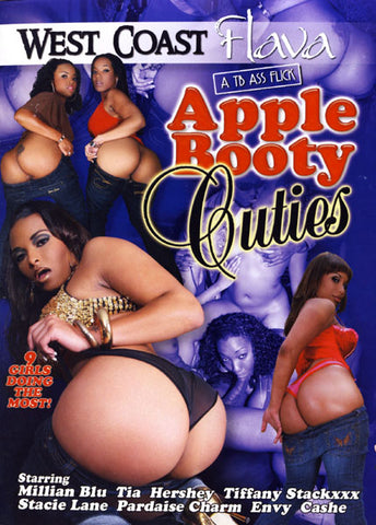 Cheap Apple Booty Cuties 1 porn DVD