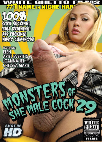 Cheap Monsters Of She Male Cock 29 porn DVD