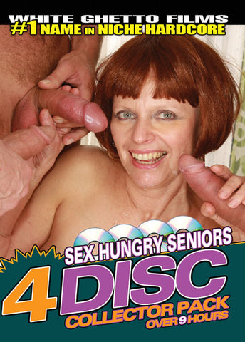 Cheap Sex Hungry Seniors (4 Disc Set) porn DVD