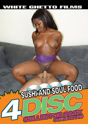 Sushi And Soul Food (4 Disc Set) XXX Adult DVD