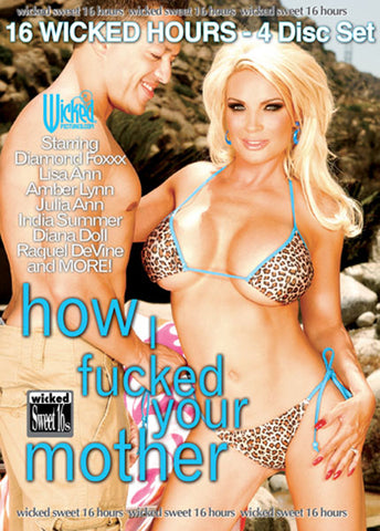 Cheap How I Fucked Your Mother porn DVD