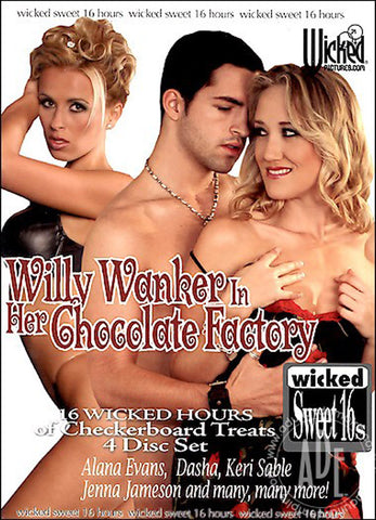 Cheap Willy Wanker In Her Chocolate Factory porn DVD