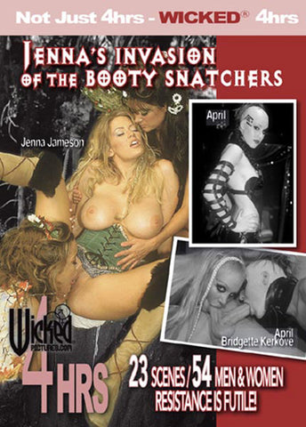 Cheap Jenna's Invasion Of The Booty Snachers porn DVD