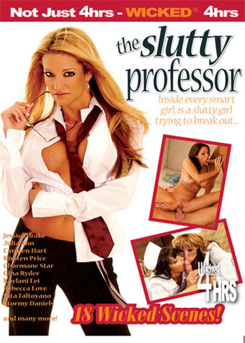 Cheap The Slutty Professor porn DVD