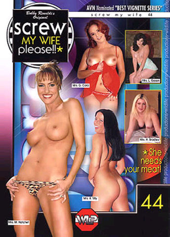 Cheap Screw My Wife Please 44 porn DVD