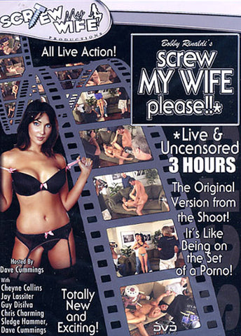 Cheap Screw My Wife Please Live & Uncensored 1 porn DVD