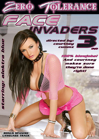 Cheap Face Invaders 3 porn DVD
