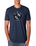 .50 CAL Distressed BMG Shirt Midnight Navy