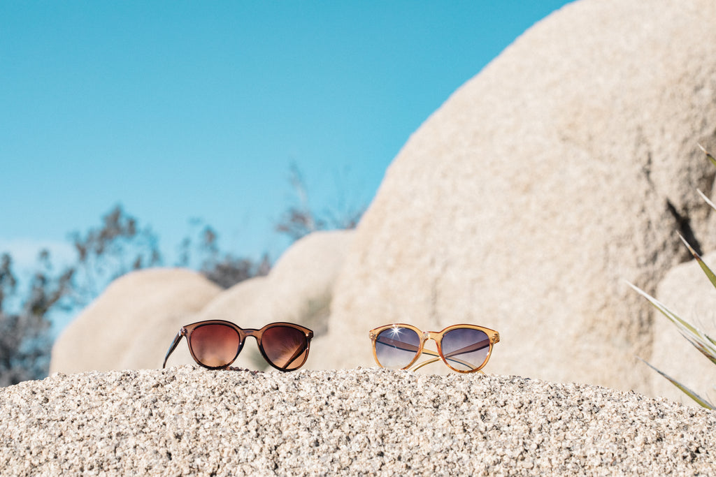 Curious to know what sunglasses might work best for you? Check out our guide to choosing sunglasses for you face shape!