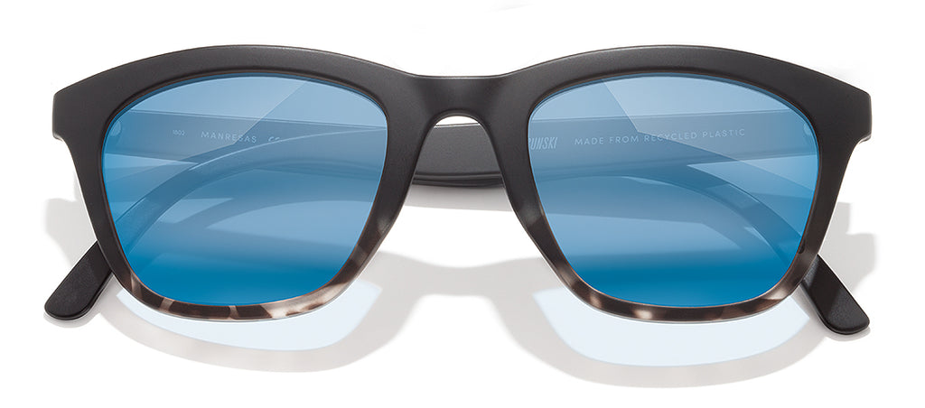 Manresa color Black Tortoise Aqua