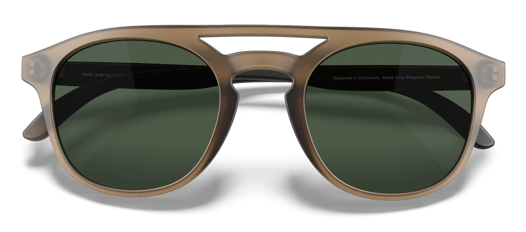Sunski Olema Cola Forest Retro Sunglasses
