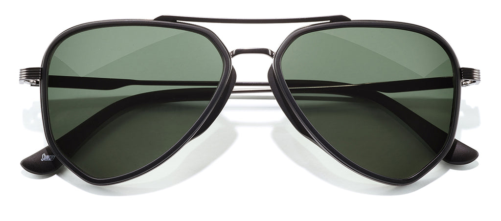 Sunski Astra Black Forest Retro Sunglasses