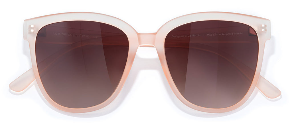 Sunski Camina Blush Terra Fade Retro Sunglasses
