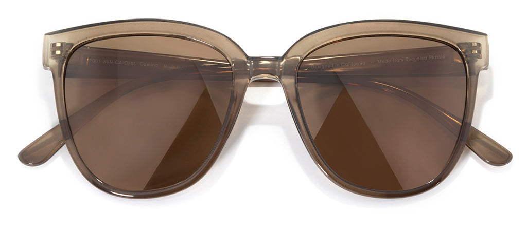 Sunski Camina Cola Amber Retro Sunglasses