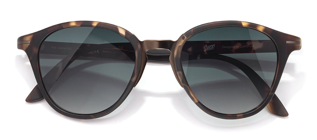 Sunski Vacanza Tortoise Forest Best Beach Sunglasses and Surf Sunglasses
