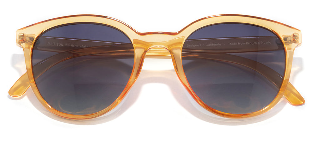 Sunski Makani Honey Ocean Retro Sunglasses
