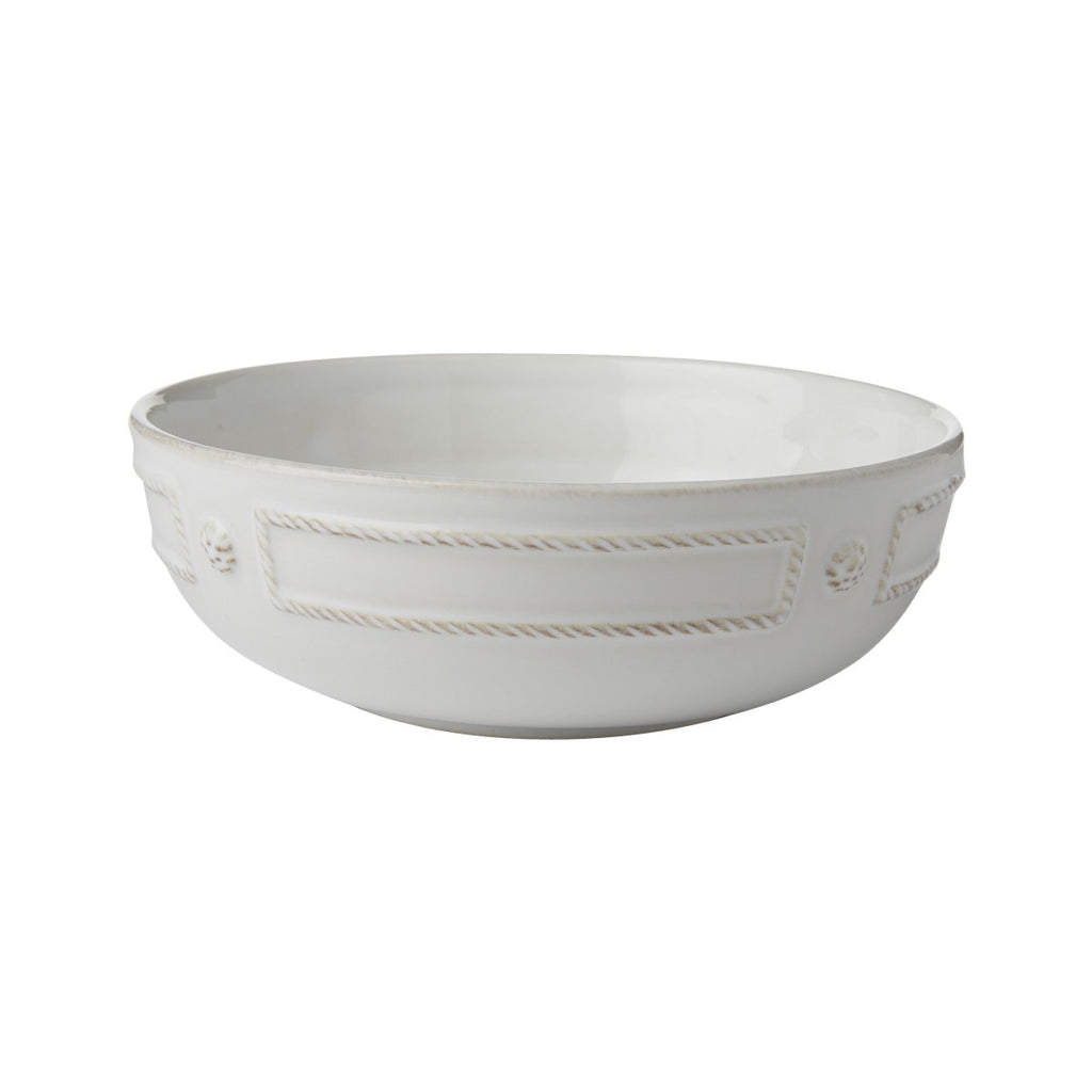 "Berry & Thread French Panel Coupe Pasta BowlBerry & Thread Whitewash 7.75"" Coupe Pasta Bowl"