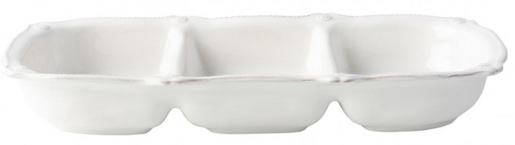 Berry & Thread Whitewash Triple Section Server