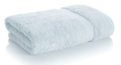 Light Blue Bamboo Towels