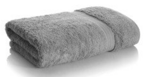 Pewter Bamboo Towels