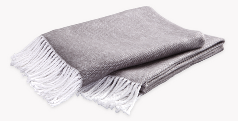 Pezzo Throw Charcoal