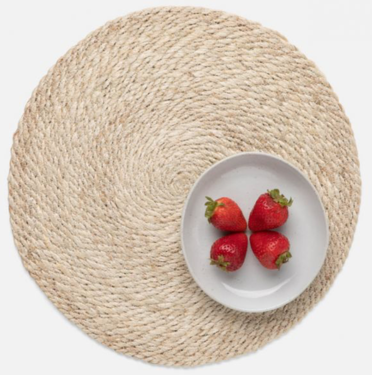 Whitley Jute Round Placemat