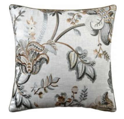 22 x 22 Pillow - Bradford Linen Almond