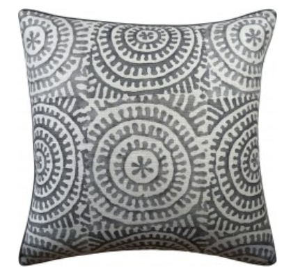 22 x 22 Pillow - Kasai Charcoal